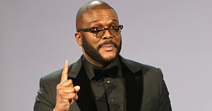 "Tyler Perry at the BET Awards: ""God Will Prepare a Table for Me in the Presence of My Enemies"""