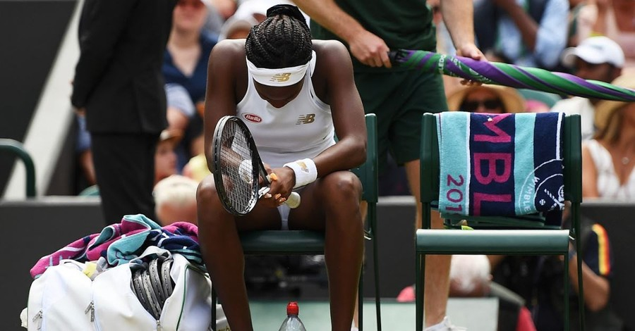 Tennis Phenom Coco Gauff Prays for Her Opponent Before Every Match