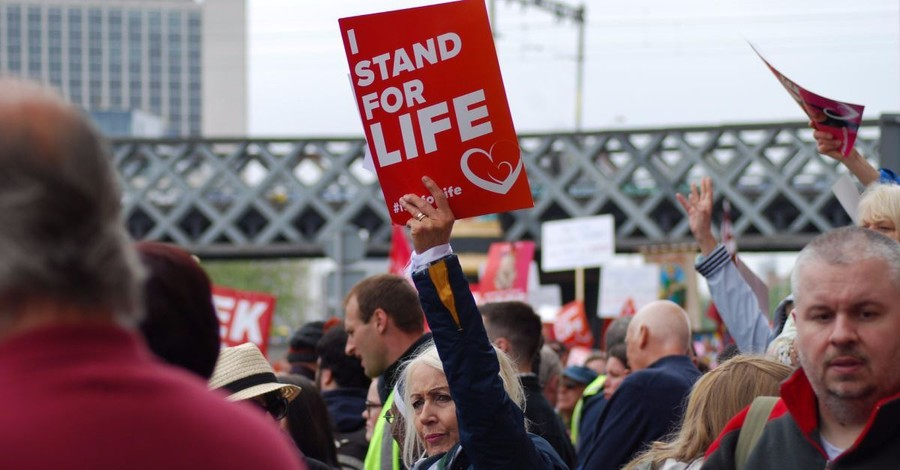 Thousands Gathered for Ireland's Rally for Life March