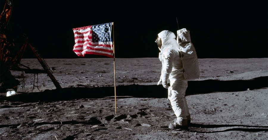5 Faith Facts about the Moon Landing: Space Communion and a Prayer League of Its Own
