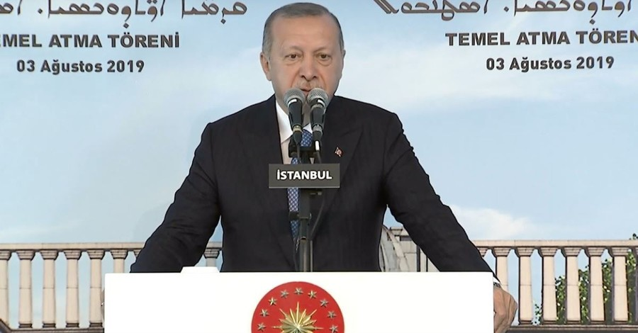 Turkish President Lays Stone for 1st New Church Building in Turkey in 100 Years