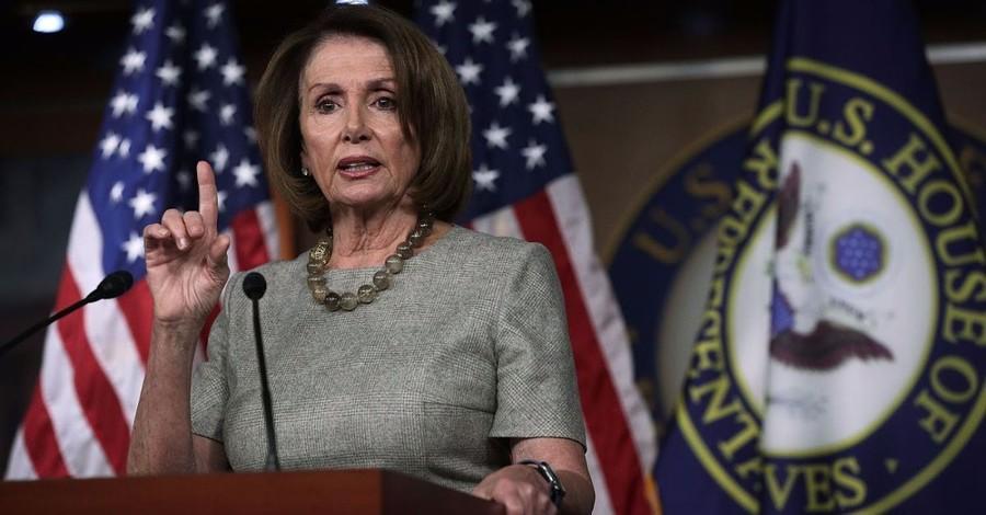 'I Pray for the President All the Time,' Nancy Pelosi Says