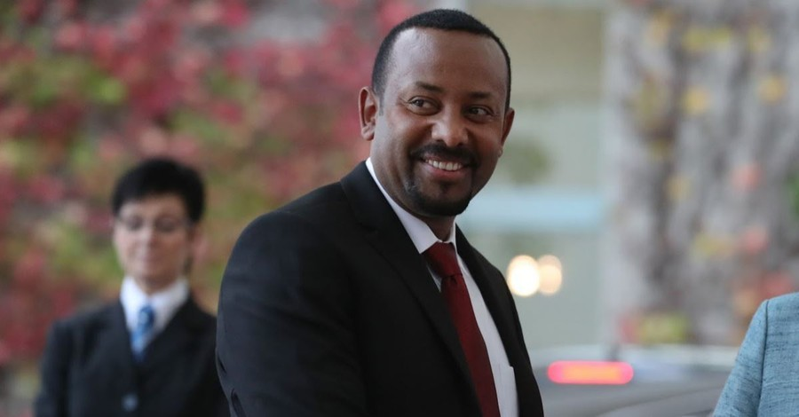 Ethiopia's Christian Prime Minister Wins Nobel Peace Prize for Helping to Reconcile Ethiopia, Eritrea