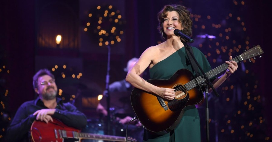 Amy Grant Speaks on Christmas, Her Career, Kirk Franklin