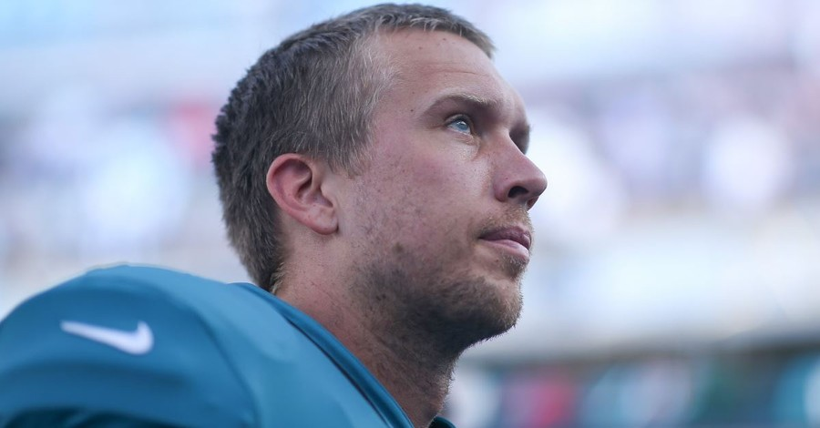 Jaguars QB Nick Foles: 'I'm Going to Glorify' Christ in the 'Good or Bad'