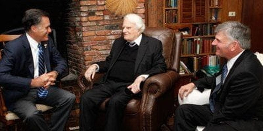After Romney Meeting, Billy Graham Website Scrubs Mormon 'Cult' Reference