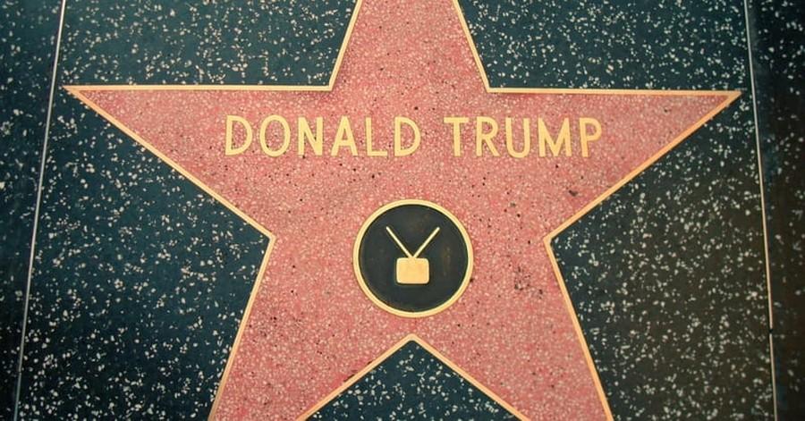 Trump's Hollywood Star Defaced Again
