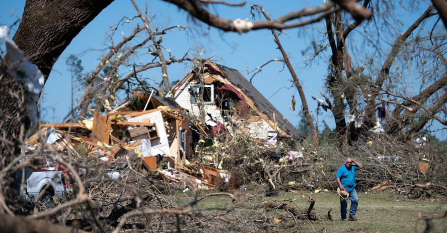 At Least 30 Dead after String of Tornadoes Rip through Southern States