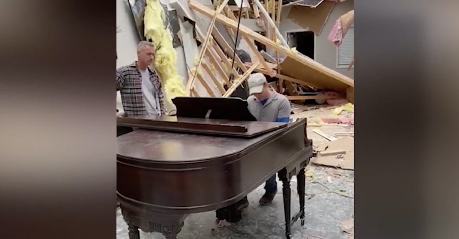 Tennessee Pastor Recovers Undamaged Piano from Church Destroyed by Tornado