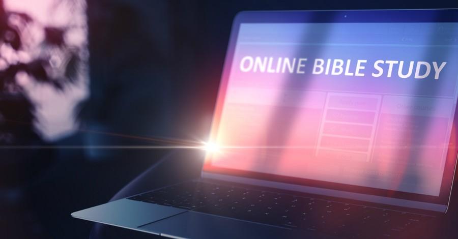 online bible study laptop
