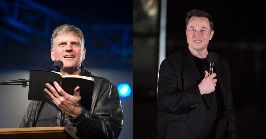 Franklin Graham and Elon Musk, Graham offers support to Elon Musk
