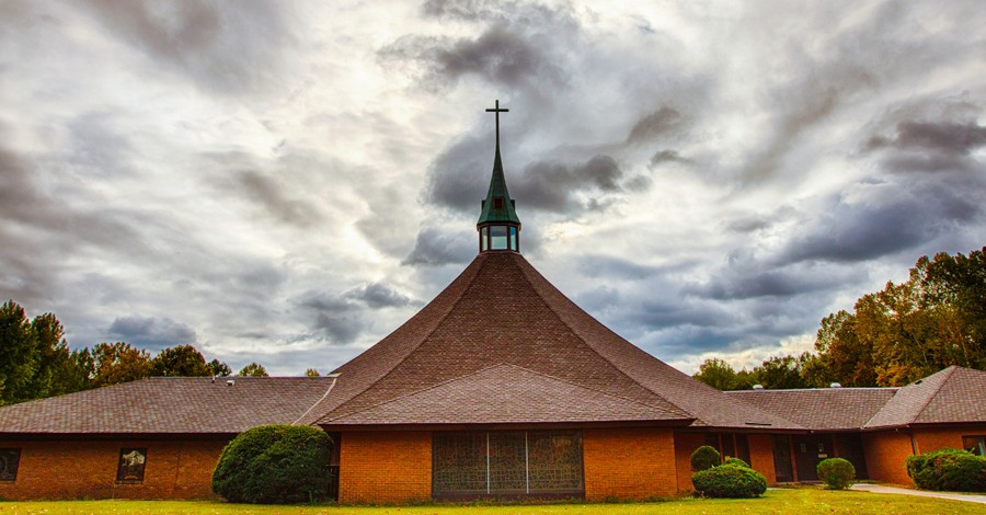 A church building, Churches begin to reopen in Virginia