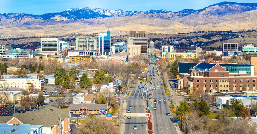 Boise City in Idaho, Boise's new mayor is suggesting some controversial policies