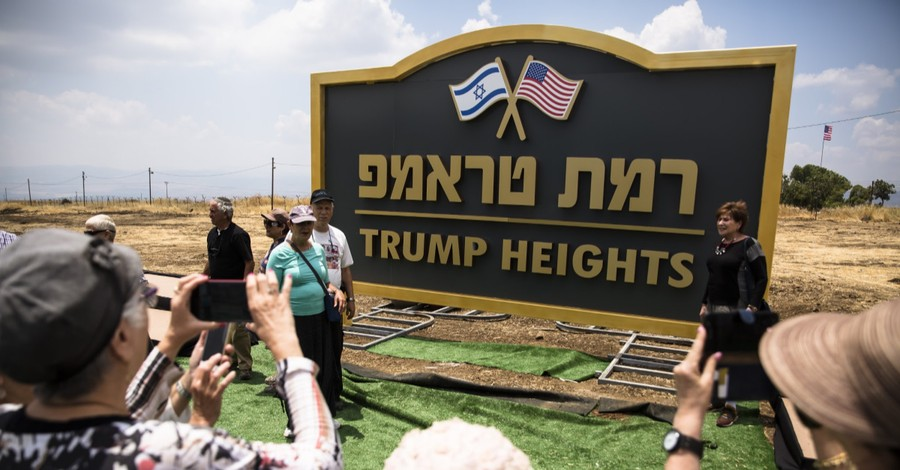 Trump Heights, Israel moves forward with housing settlement named after president trump