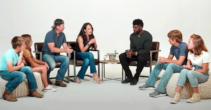 The Gaines family and Emmanuel Acho, The Gaines family talk about racism with Emmanuel Acho