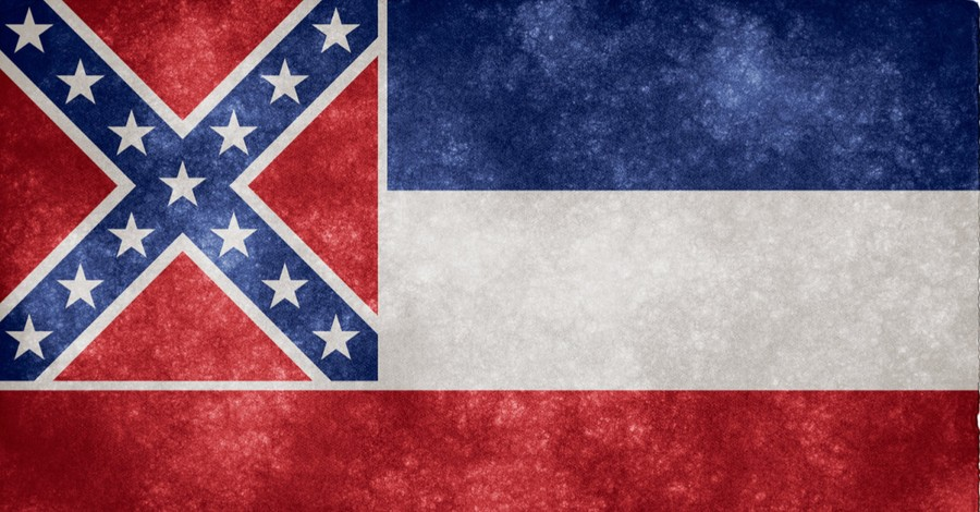 The Mississippi flag, the Mississippi Baptist Convention call for the state's flag to be change