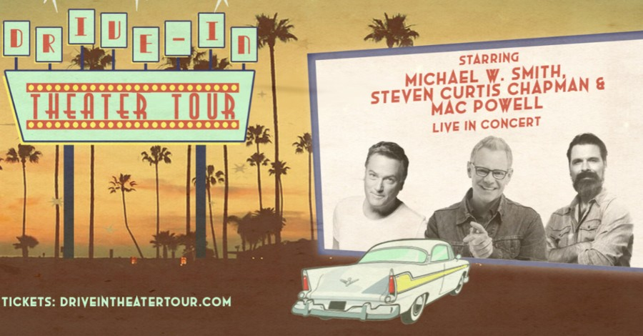 Drive in Concert series poster, A handful of Christian artists to embark on drive-in tour over the summer