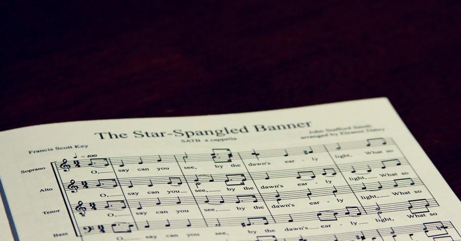 """The Star-Spangled Banner sheet music, Journalist suggests replacing """"The Star-Spangled Banner"""" with John Lennon's """"Image"""""""