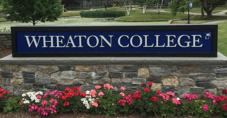 Wheaton College sign, Wheaton College let's campus chaplain go for racial and sexual discrepancies