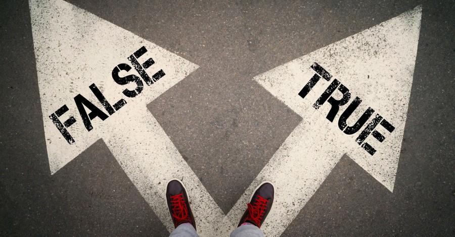 Someone facing a true or false path, 7 signs of a false prophet