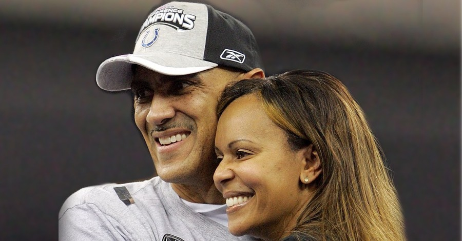 Tony and Lauren Dungy, The Dungy's work with the Salvation Army