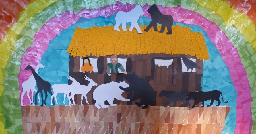 Noah's Ark illustration, Park removes Noah's ark game after an atheist group complains
