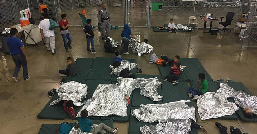 A migrant detention camp, More than 300 faith leaders call on the Trump administration to change immigration policies