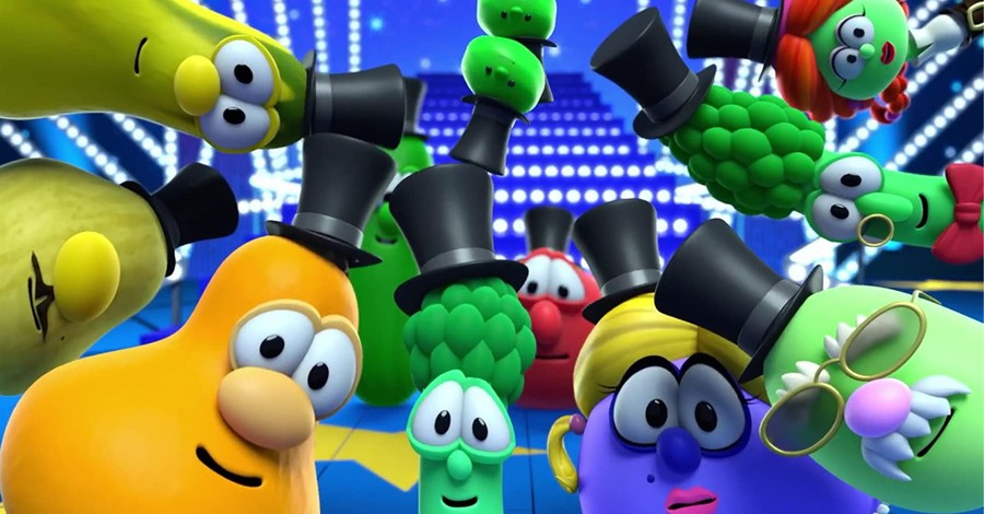 VeggieTales, new VeggieTales show is like a combination of class VeggieTales and the Muppets