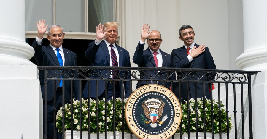 Abraham Accords signing, Trump touted as a peacemaker