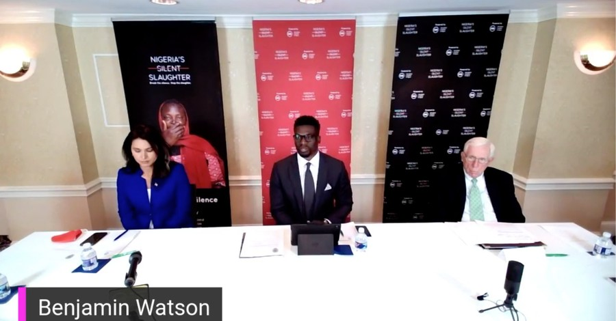 Ben Watson and Tulsi Gabbard, Watson and Gabbard call for US intervention in Nigeria