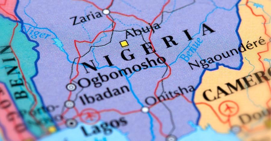 Nigeria map, Christian shot by Fulani herdsman