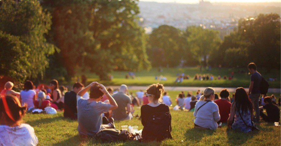 Millennials in the park, only 2 percent of millennials adhere to a biblical worldview