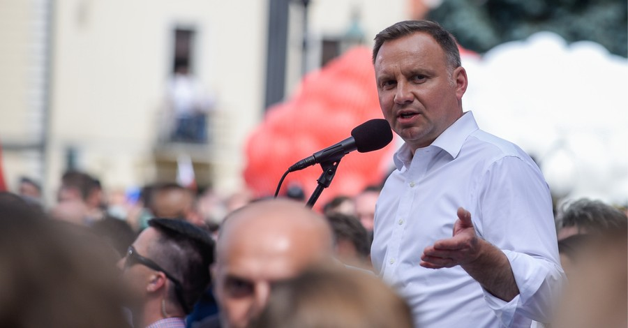 Andrzej Duda, Poland's President marches in the March for Life