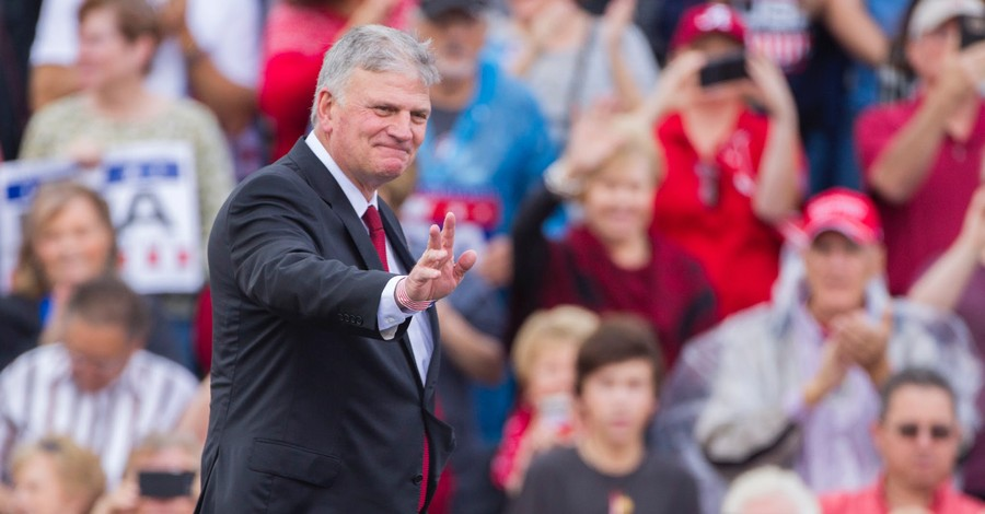 Franklin Graham, Graham says it is imperative that we turn to God to heal our nation