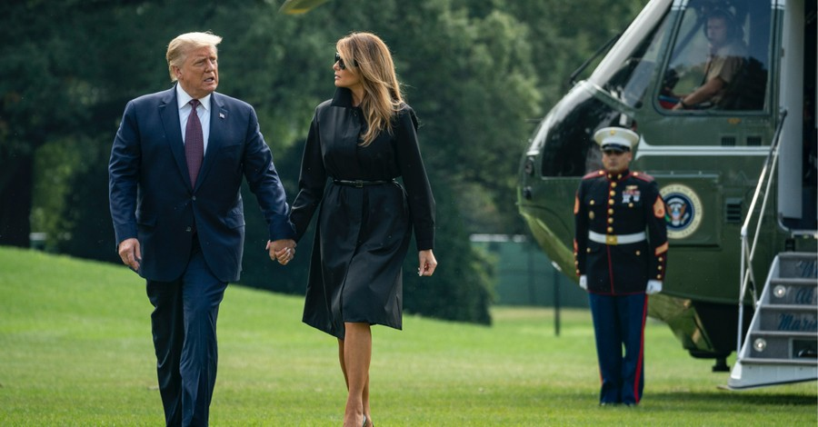 President Trump and Melania, The POTUS and FLOTUS are diagnosed with COVID-19