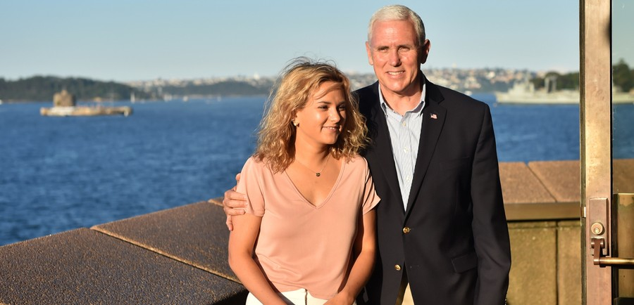 Charlotte Pence and Mike Pence, Charlotte opens up about her faith journey