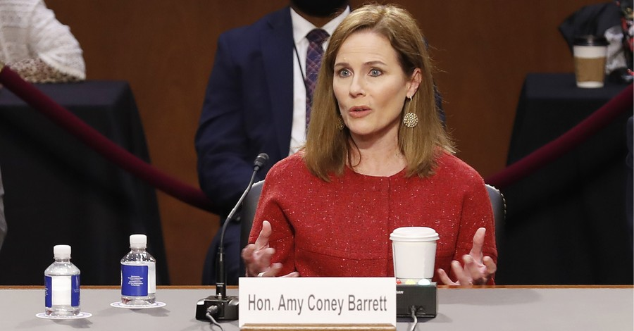 Judge Amy Coney Barrett, Barrett says judges should not impose personal views on the law