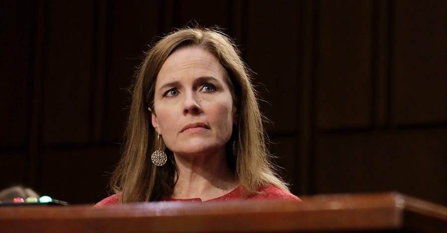Amy Coney Barrett, Barrett says Roe is not 'super precedent'