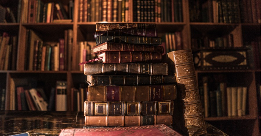 A stack of books, what we cannot know unless we know the Bible