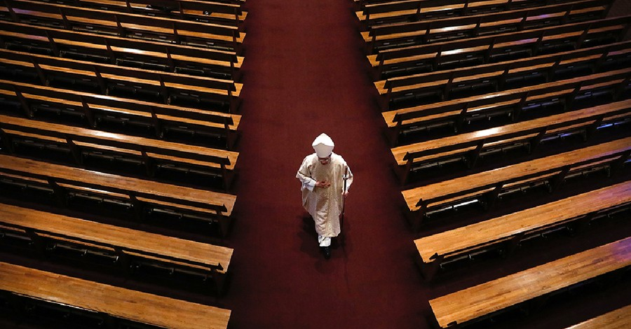 a priest in a church, Clergy shortage grows to more than 3000