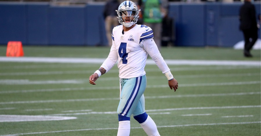 Dak Prescott, Prescott says he is excited to see what God has planned for his life following an ankle injury
