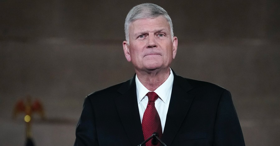 Franklin Graham, Graham says the Pope's call for same-sex civil unions suggests that he believes the Bible is wrong on homosexuality