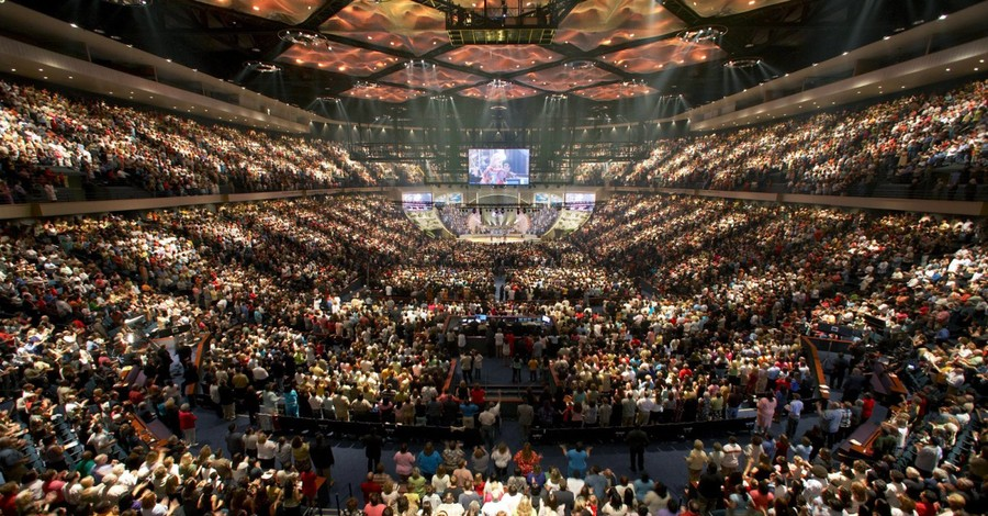 Lakewood Church, Megachurches having been thriving in over the last 5 years
