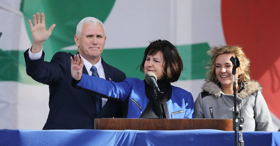 The Pence family, Charlotte Pence Bond stresses the importance of looking to God