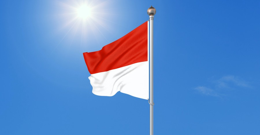 Indonesian flag, A Bible translator is killed in Indonesia