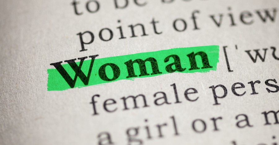 The word 'woman' in the dictionary, the OED changes the definitions of man and woman to be more inclusive