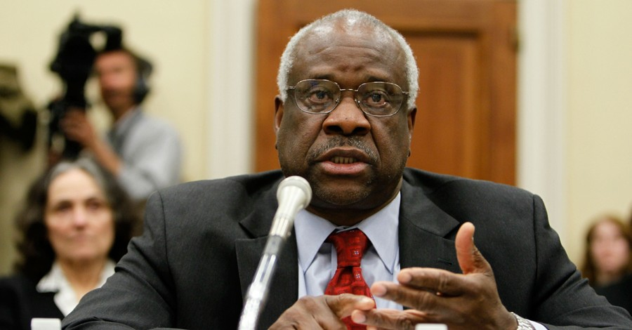 Clarence Thomas, Thomas says the Supreme Court should address free speech issues in regard to abortion clinics