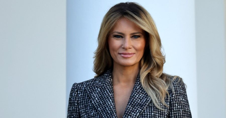 Melania Trump, The First Lady delivers a farewell address