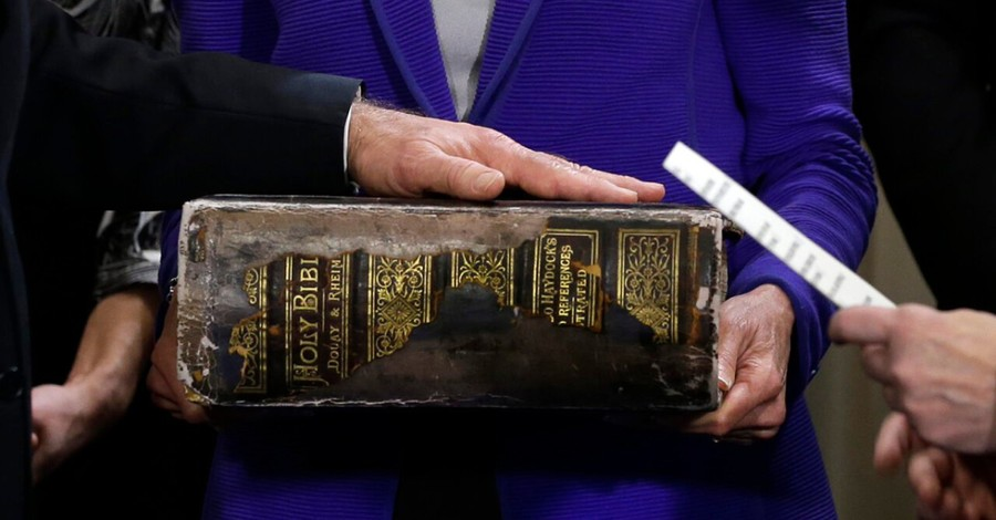 Joe Biden's family Bible, Biden to be sworn in using his family Bible