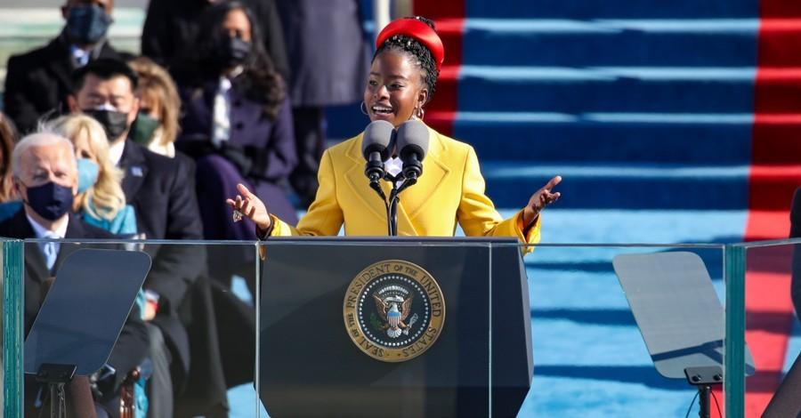 Amanda Gorman, Gorman calls for unity in a power poem at the Inauguration